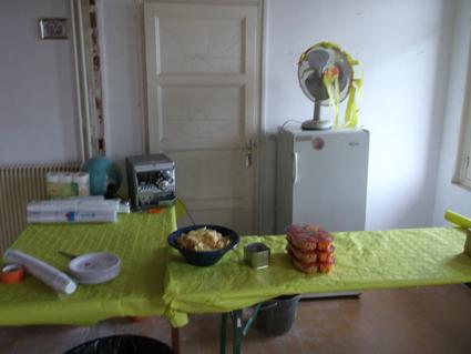 Avant la fête...